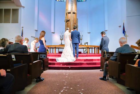 Wedding Ceremony of El Paso Bride and Groom