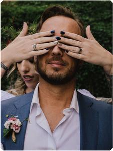 First Look El Paso Wedding Photography