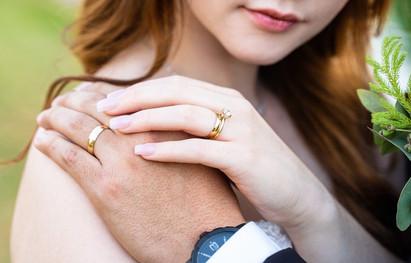 Bride and Groom Wedding Rings El Paso, TX