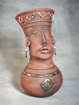 African Queen Vase