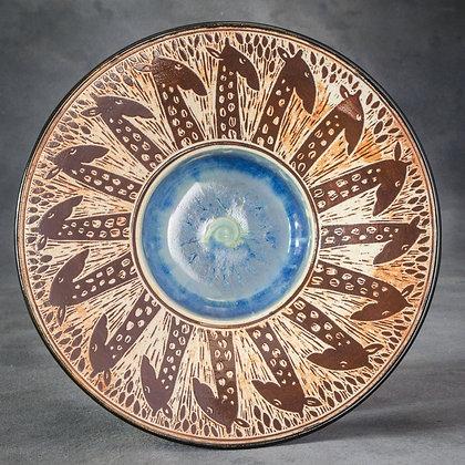 Large Giraffe Plate