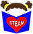 Brown curly Girls Love STEAM Logo final.