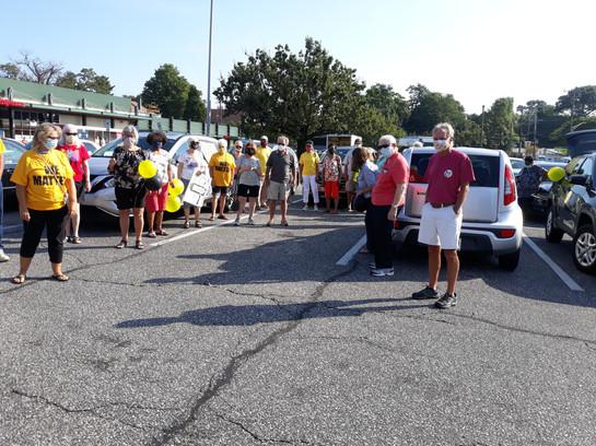 Covid Car Rally I  - 08/11/2020