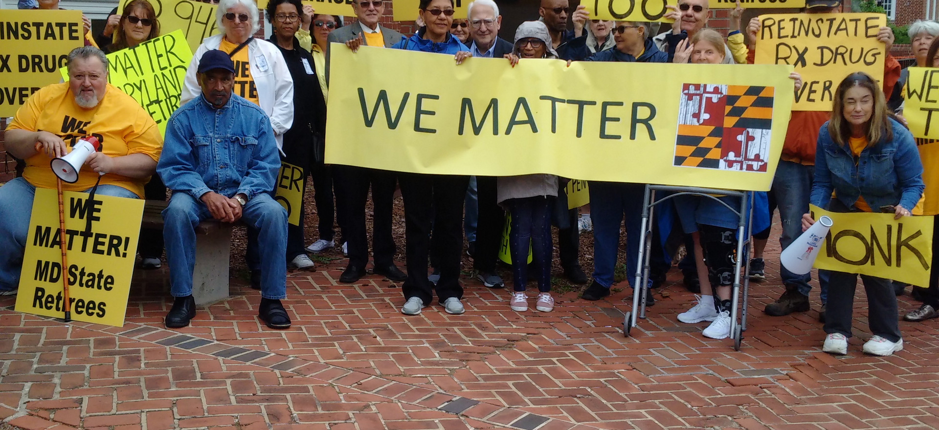 We Matter Too Rally