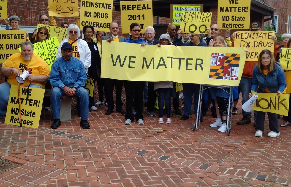 We Matter Too Rally