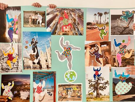 Travelling with the Nanas of Niki de Saint-Phalle