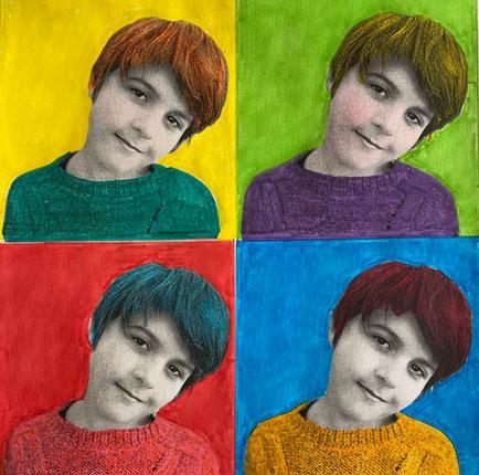 Pop-Art portrait 1