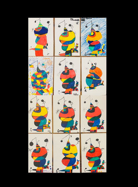 Miro Hommage to Picasso