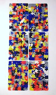 Mondrian puzzle 2