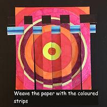 Step 4 Paper weaving