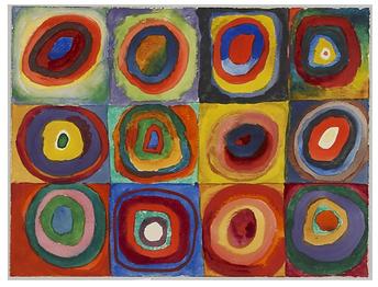 Farbstudie Kandinsky