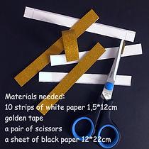 Materials needed model 1