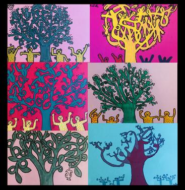 Pop Art ! Workshop Keith Haring