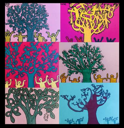 Tree of life, Keith Haring