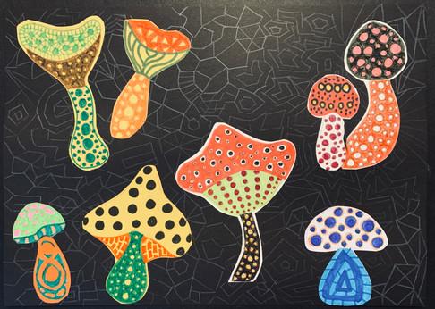 Workshop Mushrooms Yayoi Kusama