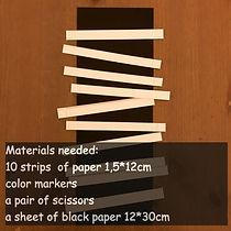 Materials needed model 3