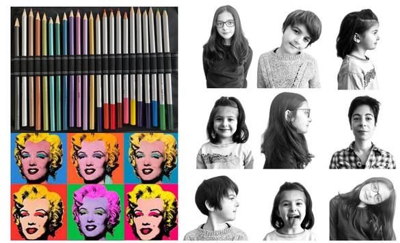 Workshop Pop Art! Let's go for our 15 minutes of fame