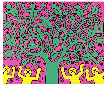 Tree of Life Keith Haring