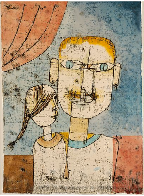 Paul Klee Acrylic Transfer - June 2