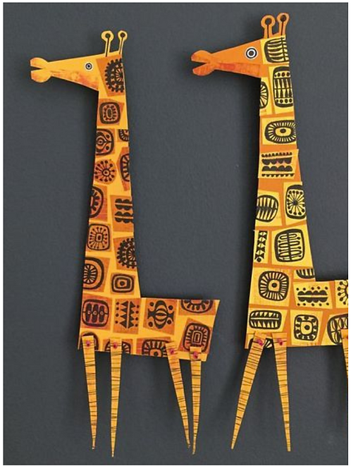 Clare Youngs Paper Puppets - April 8