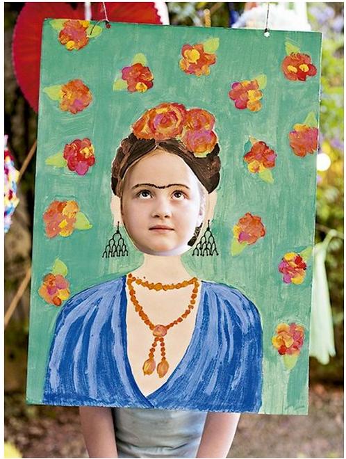 Frida Picture Frame -April 1
