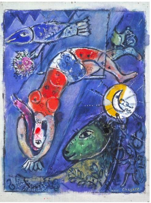 Mark Chagall Dreamscape - May 19