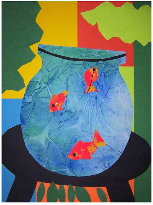 Matisse Fishbowl Collage - May 26