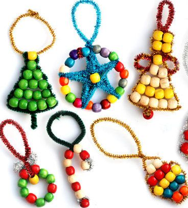 HOLIDAY GIFT MAKING - BEADED ORNAMENTS