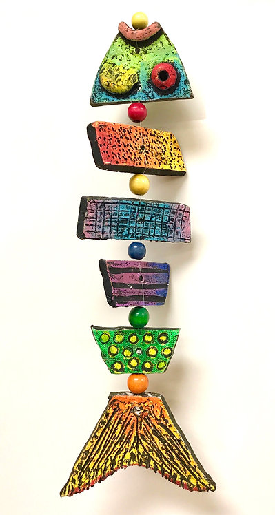 Clay Fish Mobiles