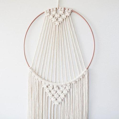 Macrame Hoop Tapestry