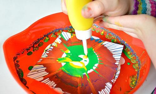 Spin Art - Morning