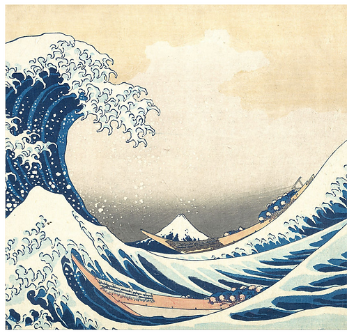 The Great Wave - March 25