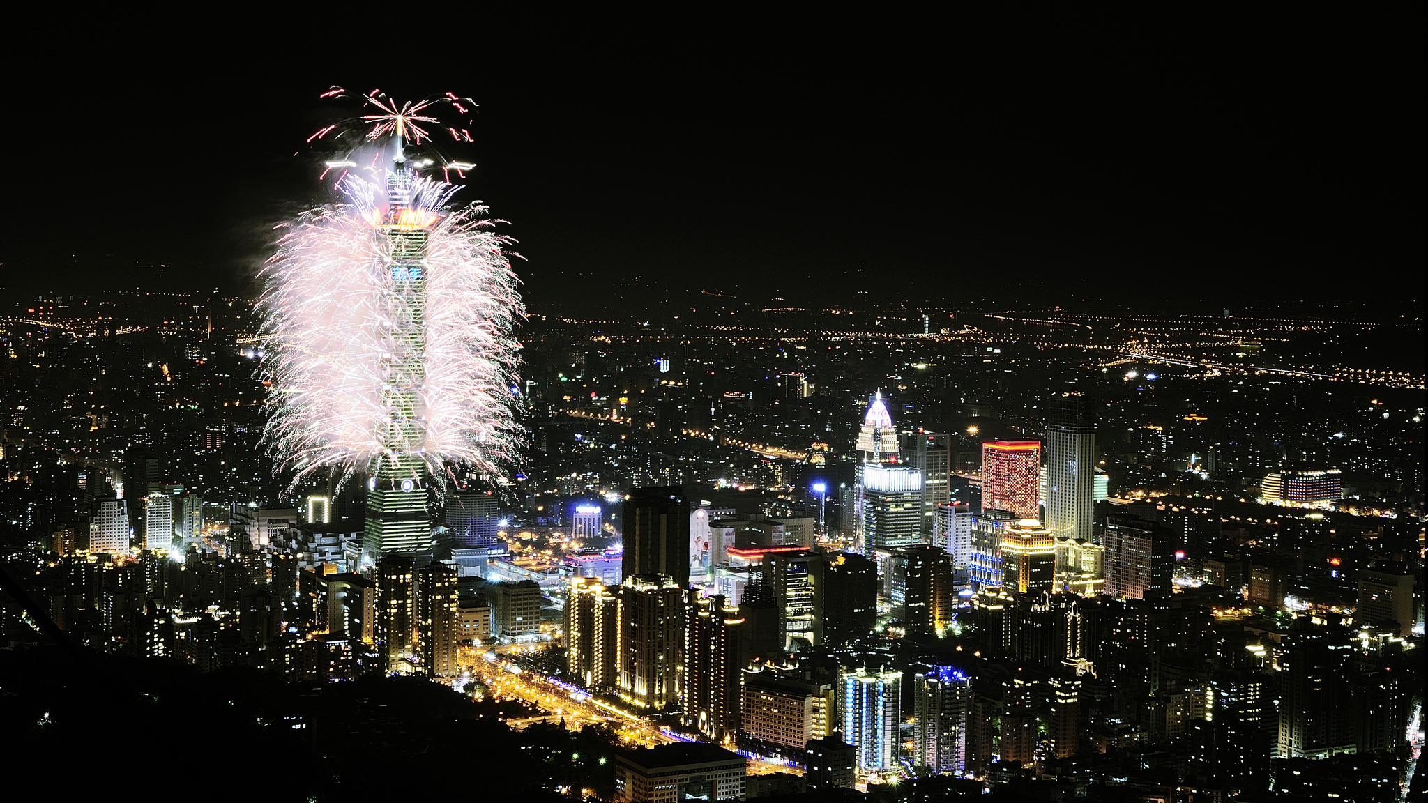 2018 Taipei101_firework