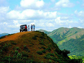 Jeep safari in Coorg