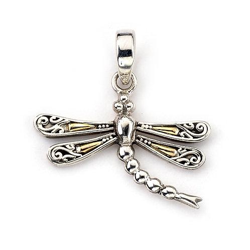 Bali Dragonfly Pendant