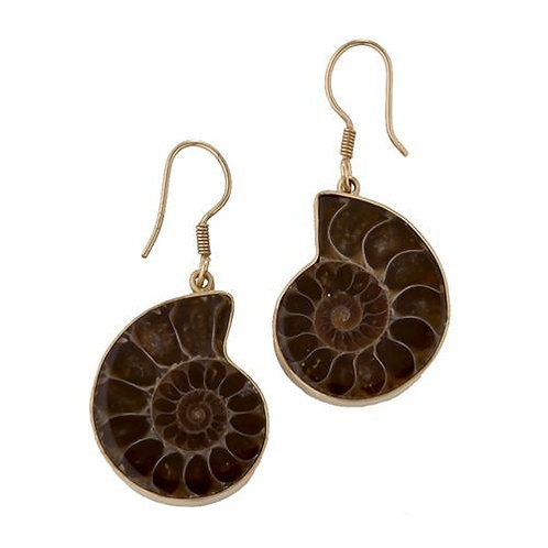 ALCHEMIA AMMONITE EARRINGS