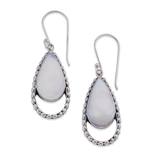 Lovina Earring - Mother of Pearl