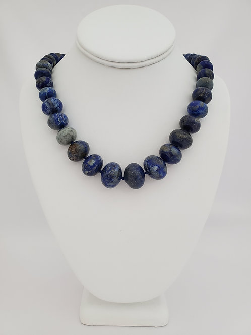 Genuine Lapis Necklace