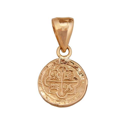 Small Treasure Coin Pendant