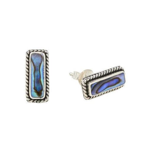 Abalone Bar Earring