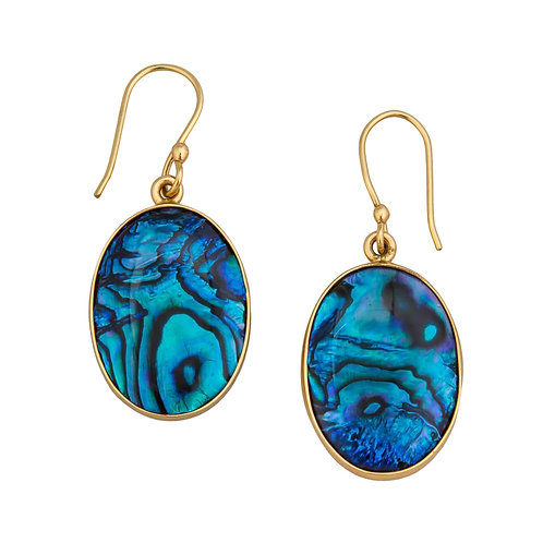 ALCHEMIA BLUE ABALONE EARRINGS