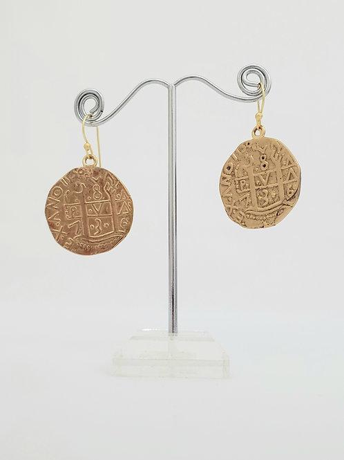 Treasure Coin Earrings
