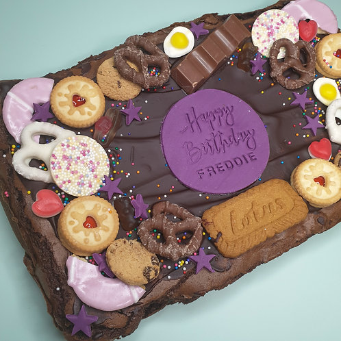 Bespoke Loaded Brownie Slab
