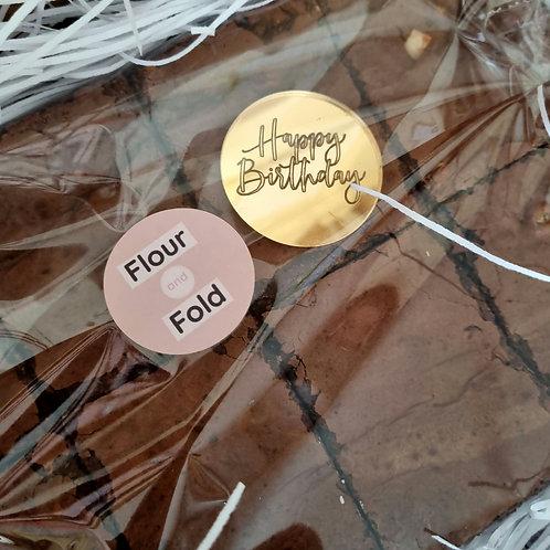 Happy Birthday Plaque