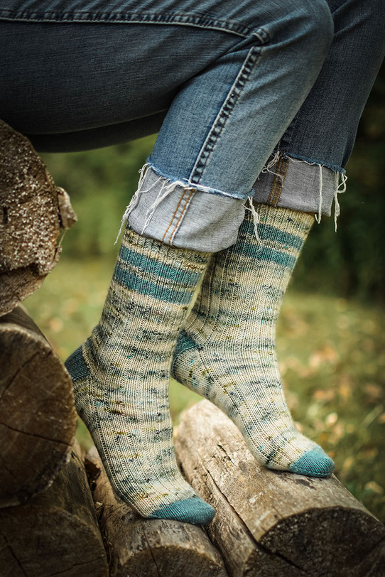 Summer Camp Socks