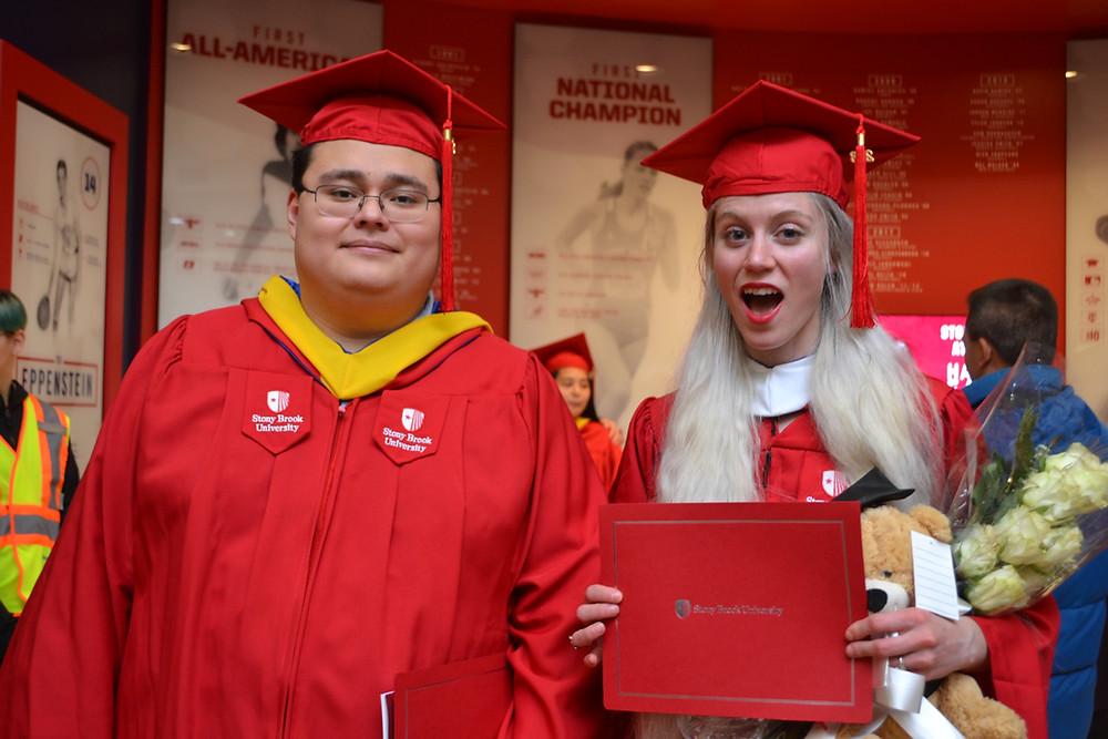 Jordan and Kaitlin graduate!