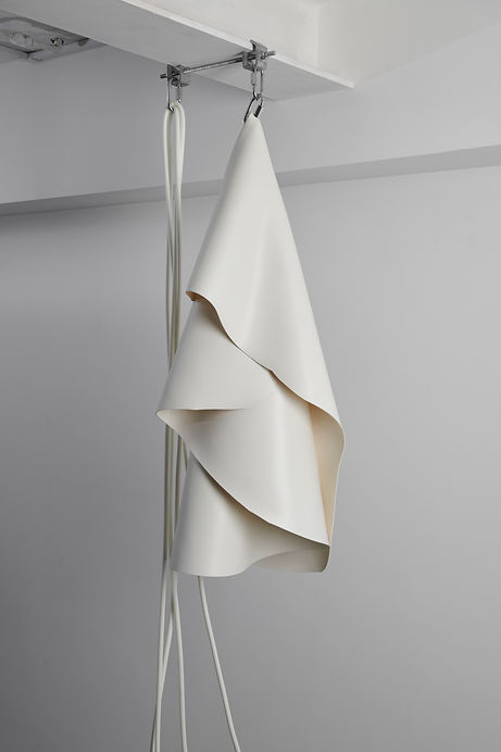 Emily Snell - Hanging silicone sculpture