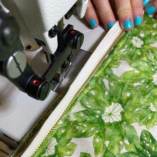 'Hepta' Fabric Design
