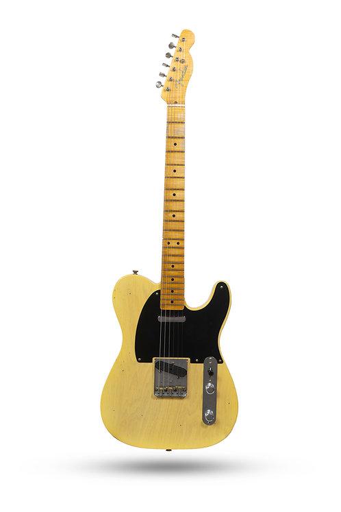 New 2019 Fender Custom Shop '51 Nocaster Journeyman Relic Butterscotch