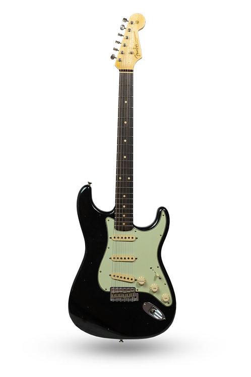 New 2019 Fender Custom Shop '60 Stratocaster Journeyman Relic Black